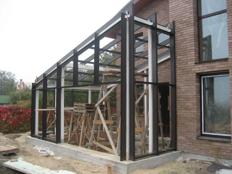 Зимни градини и покривни конструкции - картинка 1