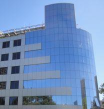 Обект - структурна окачена фасада